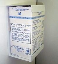 Cajas para desechos cortopunzantes M